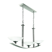 Kichler Lighting Palla 3 Light Island Light in Polished Nickel 42007PN photo thumbnail