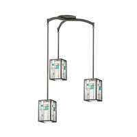 Kichler Lighting Caywood 1 Light Mini Pendant in Olde Bronze 65394 alternative photo thumbnail