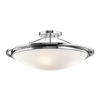 Kichler Lighting Signature 4 Light Semi-Flush in Chrome 42025CH