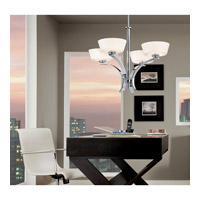 Kichler 42029CH Crystal Persuasion 5 Light 17 inch Chrome Mini Chandelier Ceiling Light alternative photo thumbnail