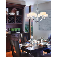 Kichler Lighting Crystal Persuasion 5 Light Chandelier in Chrome 42030CH alternative photo thumbnail