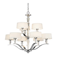 Kichler 42031CH Crystal Persuasion 9 Light 37 inch Chrome Chandelier Ceiling Light