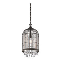 Kichler Lighting Signature 1 Light Foyer Chandelier in Olde Bronze 42033OZ