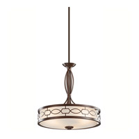 Kichler Lighting Punctuation 3 Light Pendant in Mission Bronze 42052MIZ alternative photo thumbnail