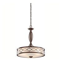 Kichler Lighting Punctuation 3 Light Pendant in Mission Bronze 42052MIZ photo thumbnail