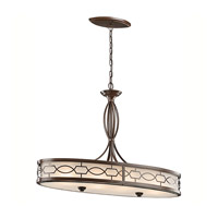 Kichler Lighting Punctuation 4 Light Pendant in Mission Bronze 42053MIZ photo thumbnail