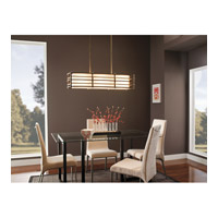 Kichler 42061CMZ Moxie 3 Light 36 inch Cambridge Bronze Island Light Ceiling Light alternative photo thumbnail