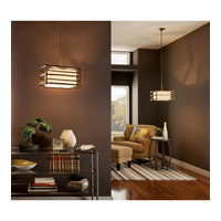 Kichler Lighting Moxie 2 Light Pendant in Cambridge Bronze 42062CMZ