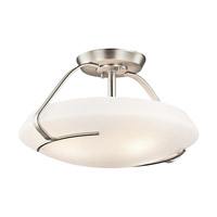 Kichler Lighting Signature 4 Light Semi-Flush in Brushed Nickel 42063NI photo thumbnail