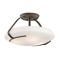 Kichler Lighting Signature 4 Light Semi-Flush in Olde Bronze 42063OZ