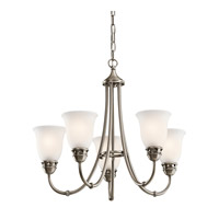 Kichler Lighting Durham 5 Light Chandelier in Antique Pewter 42064AP photo thumbnail