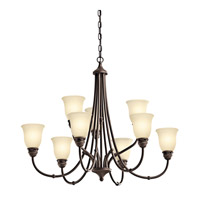 Kichler Lighting Durham 9 Light Chandelier in Olde Bronze 42066OZ photo thumbnail