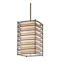 Kichler Lighting Moxie 4 Light Foyer Chain Hung in Cambridge Bronze 42073CMZ