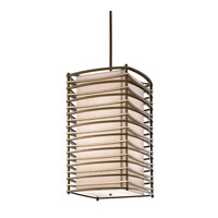 Kichler Lighting Moxie 6 Light Foyer Chain Hung in Cambridge Bronze 42074CMZ