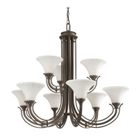 Kichler Lighting Parsons 9 Light Chandelier in Olde Bronze 42077OZ thumb