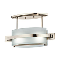 Kichler Lighting Freeport 2 Light Semi-Flush in Polished Nickel 42092PN photo thumbnail