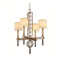 Kichler Lighting Celestial 4 Light Chandelier in Cambridge Bronze 42104CMZ