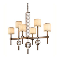 Kichler Lighting Celestial 6 Light Chandelier in Cambridge Bronze 42105CMZ