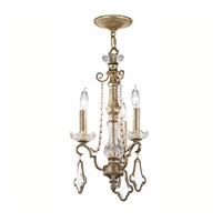 Kichler Lighting Gracie 3 Light Mini Chandelier in Sunrise Mist 42114SRM photo thumbnail