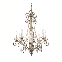 Kichler Lighting Gracie 8 Light Chandelier in Sunrise Mist 42116SRM photo thumbnail