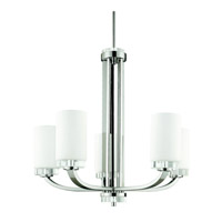 Kichler Lighting Reynes 5 Light Chandelier in Chrome 42118CH photo thumbnail