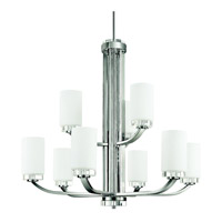 Kichler Lighting Reynes 9 Light Chandelier in Chrome 42119CH photo thumbnail