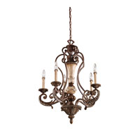 Kichler Lighting Sabrina 5 Light Chandelier in Lincoln Bronze 42127LBZ alternative photo thumbnail