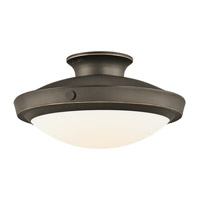 Kichler Lighting Fremont 1 Light Pendant in Olde Bronze 42135OZ