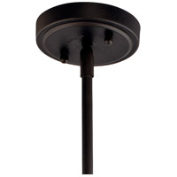 Kichler 42141OZCS Everly 1 Light 11 inch Olde Bronze Pendant Ceiling Light in Clear Seedy alternative photo thumbnail