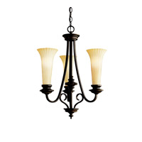 Kichler Lighting Abbeyville 3 Light Chandelier in Olde Bronze 42150OZ photo thumbnail