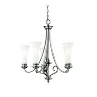 Kichler Lighting Abbeyville 5 Light Chandelier in Brushed Pewter 42151BPT photo thumbnail