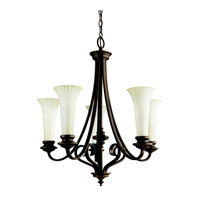 Kichler Lighting Abbeyville 5 Light Chandelier in Olde Bronze 42151OZ photo thumbnail