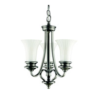 Kichler Lighting Abbeyville 3 Light Mini Chandelier in Brushed Pewter 42152BPT photo thumbnail