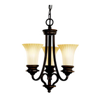 Kichler Lighting Abbeyville 3 Light Mini Chandelier in Olde Bronze 42152OZ photo thumbnail