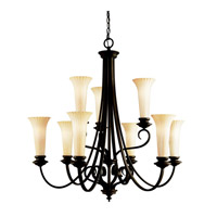 Kichler Lighting Abbeyville 9 Light Chandelier in Olde Bronze 42153OZ photo thumbnail