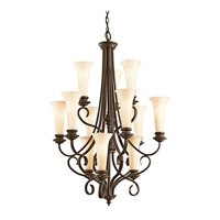 Kichler Lighting Abbeyville 12 Light Chandelier in Olde Bronze 42156OZ