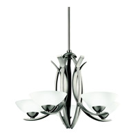 Kichler Lighting Bellamy 5 Light Chandelier in Antique Pewter 42159AP photo thumbnail