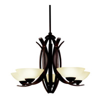 Kichler Lighting Bellamy 5 Light Chandelier in Olde Bronze 42159OZ photo thumbnail
