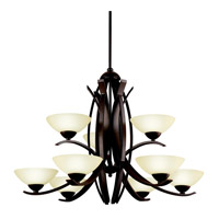 Kichler Lighting Bellamy 9 Light Chandelier in Olde Bronze 42160OZ photo thumbnail
