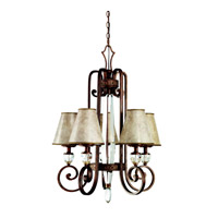 Kichler Lighting Hanna 5 Light Chandelier in Heritage Bronze 42169HB