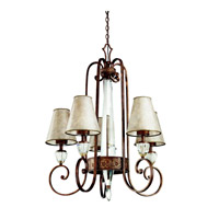 Kichler Lighting Hanna 5 Light Chandelier in Heritage Bronze 42170HB