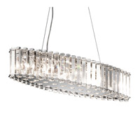 Kichler Lighting Crystal Skye 8 Light Chandelier in Chrome 42172CH photo thumbnail