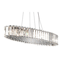 Kichler 42173CH Crystal Skye 12 Light 12 inch Chrome Chandelier Ceiling Light photo thumbnail