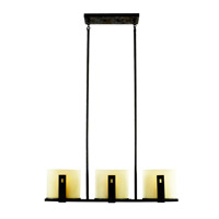 Kichler Lighting Montara 3 Light Island Light in Old Iron 42176OI