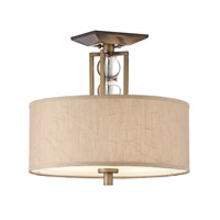 Kichler Lighting Celestial 3 Light Semi-Flush in Cambridge Bronze 42193CMZ