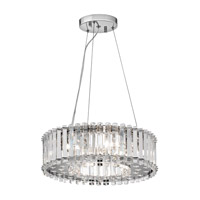 Kichler Lighting Crystal Skye 6 Light Chandelier in Chrome 42194CH photo thumbnail