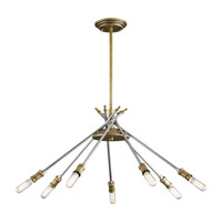 Doncaster 7 Light 24 inch Natural Brass Chandelier Ceiling Light, Medium
