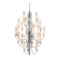 Stella 24 Light 36 inch Chrome Foyer Chandelier Ceiling Light
