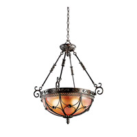 Kichler Lighting Marchesa 3 Light Inverted Pendant in Terrene Bronze 42229TRZ