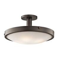Kichler 42246OZ Lytham 4 Light 11 inch Olde Bronze Semi-Flush Mount Ceiling Light